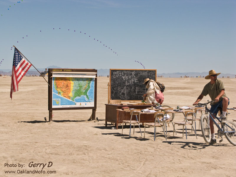 Class on the Playa American Studies