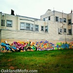 Graffiti Mural Art In Oakland