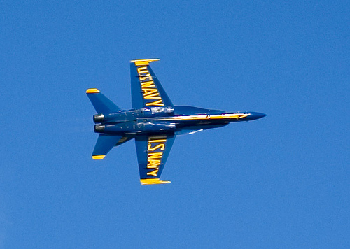 Blue Angels F-18 Hornet