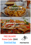 Free Delivery Postmates Code Oakland 24 hour Delivery!