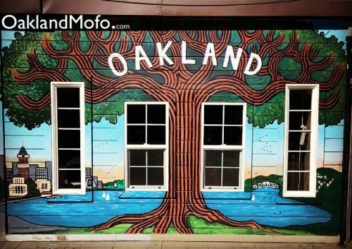 oakland tree art