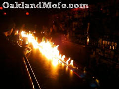 ruby room bar fire