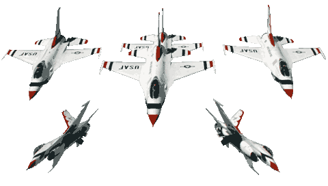 f16 thunderbirds