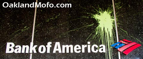 bank of america damage riot