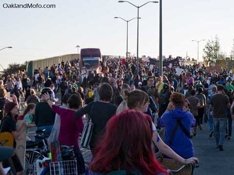 port of oakland protest