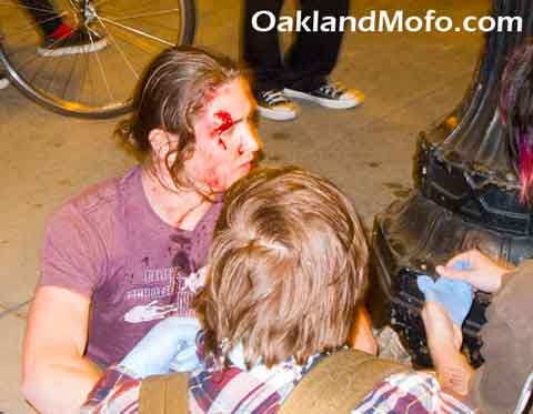 oakland police brutality victim