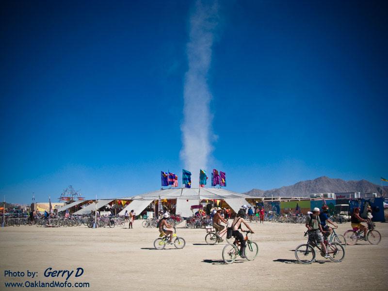 Center Camp Dust Storm