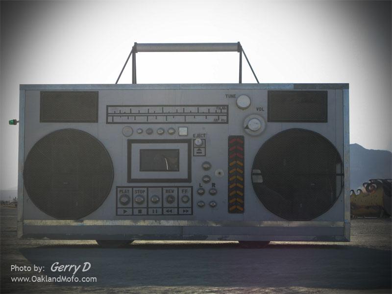 Radio Art Car