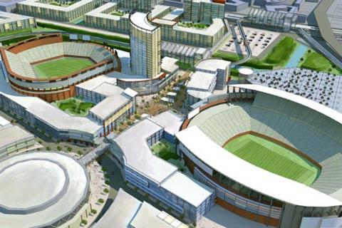 new coliseum complex