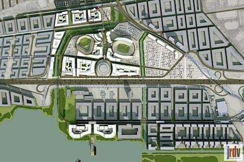 coliseum city project rendition