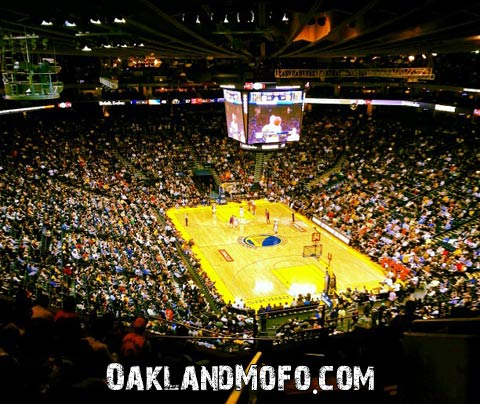 oracle arena warriors basketball