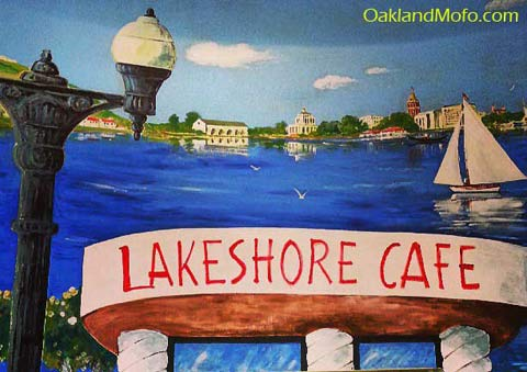 lakeshore cafe art