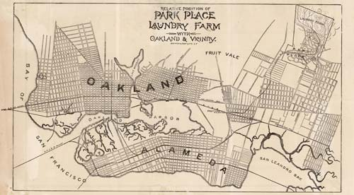 Maps of Oakland CA Large Historic Maps For Sale