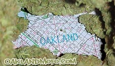 oakland weed map