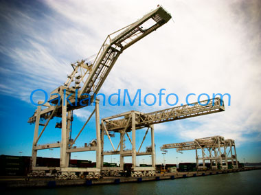 buy port shipping cranes photo