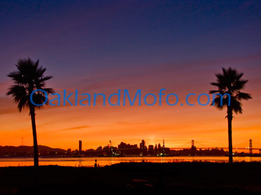san francisco sunset photo for sale