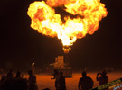 Burning Man fire pictures